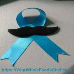 The Blue Ribbon For Male Cancer