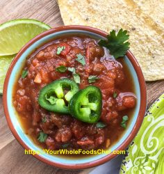 Healthy and Delicious Spicy Salsa