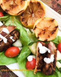 Keto Friendly Shawarma-Spiced Chicken Wraps