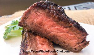 Keto Happy Herb Mustard Sirloin Steak